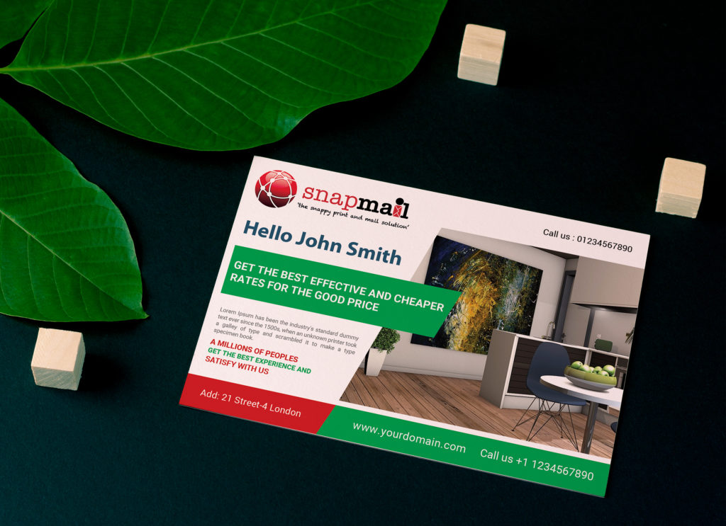 personalised direct mail small